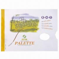 China Tear Off Paper Palette, Maesures 9 x 12cm on sale
