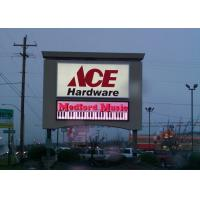 Quality LINSN P10 SMD5050 outdoor full color electronic marquee led sign for sale