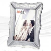 Quality Stylish Glass Mirror Photo Frame With Environmental Protection Paper Back Board for sale