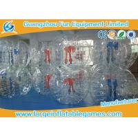 High Performance Soccer Bumper Balls Inflatable For Schools / Rental Business