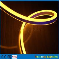 Best pretty 110V double side emitting yellow led neon flexible strip for outdoor wholesale