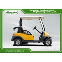 Buy Electric Powered 2 Seats Golf Carts With Curtis Controller 48V 275A at wholesale prices