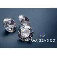 Buy cheap Brilliance Cutting Moissanite Loose Stones 15 - 300nm Thickness For Rings from wholesalers