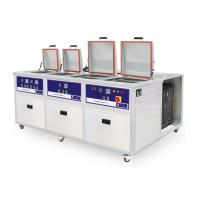 Buy cheap 4 tanks Customized PCB Ultrasonic cleaner with cooling system from wholesalers