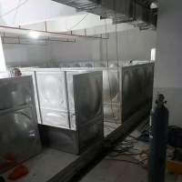 China ISO9001 SUS304 10000M3 Sectional Modular Water Tank for sale