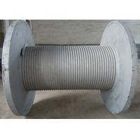 Buy Carbon Steel Integral Cable Winch Drum for Marine Windlass Boat and Lifting at wholesale prices