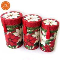 China Custom Cylinder Paper Gift Packaging Box , Excellent Gift Tube Box on sale