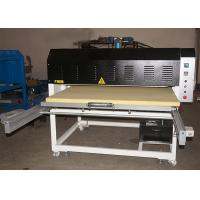 Grand Format Fabric Heat Transfer Press Sublimation Machine With Two Trays