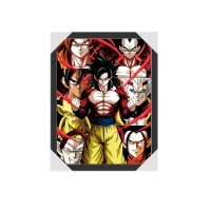 Quality 3D Lenticular 3D Flip Lenticular Anime Poster Anime 3D Lenticular Goku for sale