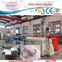 China PVC Single Wall Corrugated Pipe Machine , High Temperature Resistance on sale