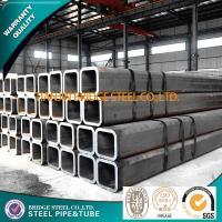 Quality ASTM A500 BS1387 ERW Square Steel Pipe 6 Inch Q195 / Q235 / Q345 for sale