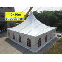 Quality Clear Span Tent High Peak Church Windows Multi - Role For World Expo Show for sale