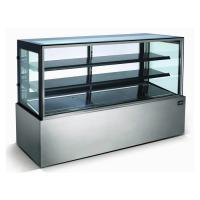 Quality Stainless Steel Refrigerated Bakery Display Case , Bakery Fridge Display for sale
