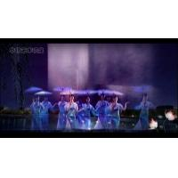 Quality Entertainment Purposes Water Screen Projection With Perfect Visual Experience for sale