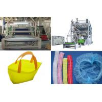 Quality SMS PP Spunbond Nonwoven Fabric Production Line / Equipment automatic bag Making for sale