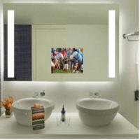 Quality Glossy mirror with LED lighted source for sale