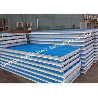 China Corrugated 950mm Lightweight Steel Sheet EPS Sandwich Panels for Warehouse Roof Panel on sale