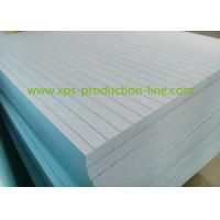 China Yellow / Blue / Green / Pink Smooth XPS Insulation Board for Traditional Roof on sale