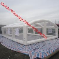 Quality inflatable crystal bubble tent inflatable house tent inflatable church tent for sale