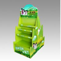 Best Two Sides Shower Gel Bottle Cardboard Shelf Display for Promotion wholesale