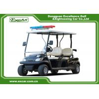 Quality ADC 48V 3.7KW Electric Patrol Car , 4 Person Golf Cart 1 Year Warranty for sale