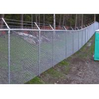 China PVC Coated Chain Link Fence manufacture supply/Decorative chain Link Wire Fence on sale