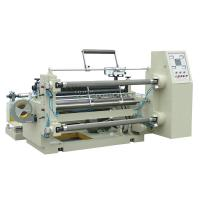 Quality PLC air shaft high speed slitting and rewinding machine for non woven fabirc for sale