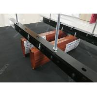 Quality Drop Ceiling Tiles / Architectural Metal Plank Wood Linear Baffle Ceiling for sale