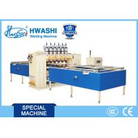 Buy cheap HWASHI Air Conditioner / Refrigerator Wire Tube Condenser Automatic Welding Machine from wholesalers