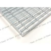 Quality Tooth Like Serrated Galvanized Steel Grating Panels For Petroleum / Chemical for sale