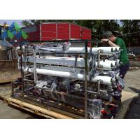 Quality Containerized Yacht Desalination Equipment , Small Marine Water Treatment Systems for sale