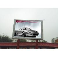 Quality High Luminance P10 led outside screen display 1080P High Color Contrast for sale