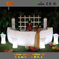 Best new arrive Nightclub bar led furniture factory LED bar counter with LED lighting and remote wholesale