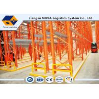 Quality 3000kg VNA Pallet Racking Surface Finishing With Araldite Static Powder Coating for sale