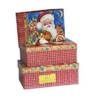 Quality Paper Gift Box & Bag » Santa Christmas Gift Boxes for sale