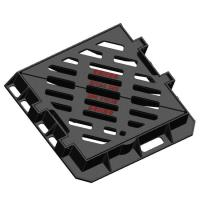 China EN1433 Gully Grating Double Triangle , Cast Iron Gully Grate STEADY POWER Model on sale