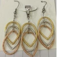 Quality Cheap Wholesale Jewelry Three Color Fashion Jewelry Sets for Women for sale
