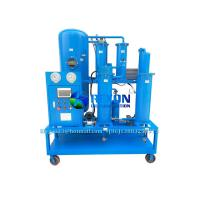 Quality Vacuum Lubricating Oil Filter and Dehydration Purifier Machine 1800 Liters/Hour for sale