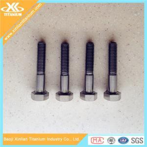 Best Price For Gr5 M6 DIN931 Titanium Hex Head Bolts