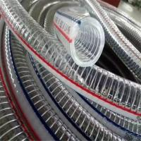 Quality flexible corrugated steel wire hose / corrugated flexible steel wire hose / pvc steel wire hose for sale