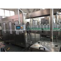 Big Bottle Pure Water Filling Machine , Liquid Filling Machine With 9 Heads Washing Part