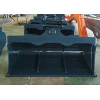 Cheap 4T - 30 Ton Digger Tilt Buckets For Excavators Tilting Grading Buckets for sale
