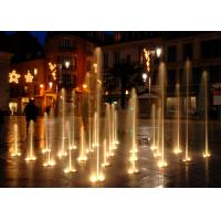 Buy cheap Rectangular Funny Floor Water Fountain In Ground For Garden Square Park from wholesalers