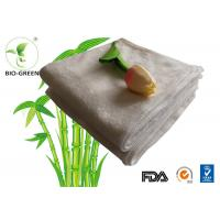 China Customized Softness Bamboo Dry Wipes , Square Bamboo Antibacterial Baby Wipes on sale