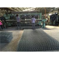 Quality PE / PVC Coated Gabion Box Double Twist Welded Gabion Baskets For Road Protection for sale