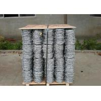 Quality Anti Climb Cross Wire Fence Sharp Coiled Barbed Wire For Government Buildings for sale