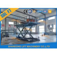China Hydraulic Scissor Car Lift Home Residential Garage Parking Car Lift with CE on sale