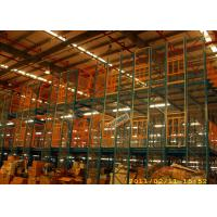 Best Medium Duty Shelf Supported Mezzanine Multi Level Storage Roll Forming wholesale