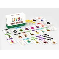 Quality Customize Your Own Paper Board Games Card Games Economy Games with Paper Tokens for sale
