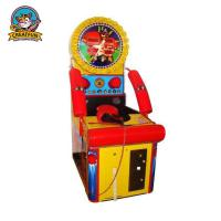 Quality Relax  Ticket Redemption Arcade Games Test Players Strength With Two Gloves for sale